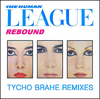 Cover art for The Human League - Rebound - Tycho Brahe Remixes. Click for larger image.